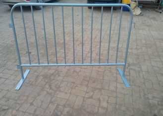 Round Tube Crowd Safety Barriers / Crowd Control Fencing For New Zealand